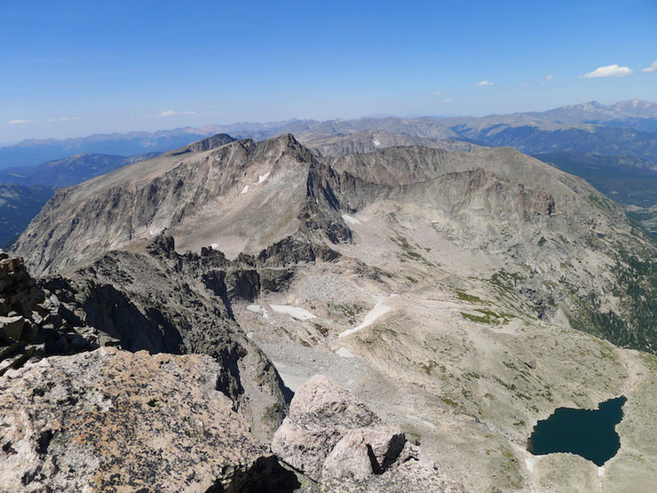 Rock Climbing Photo: McHenry's from the summit.