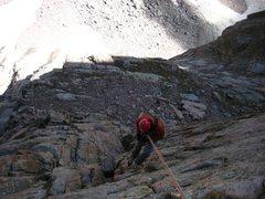 Rock Climbing Photo: Playing around on the Diamond.