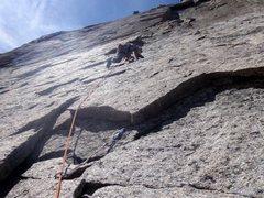 Rock Climbing Photo: Syke's Sickle