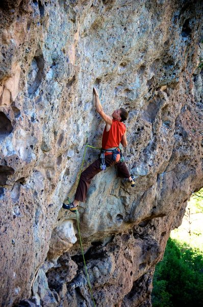 Rock Climbing Photo: Tweedle Dee action. July 2012.