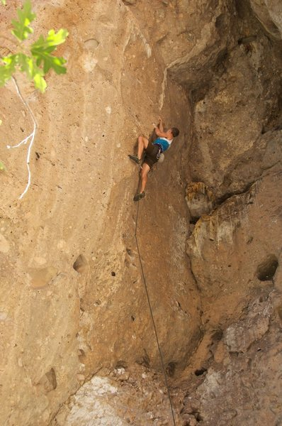 Rock Climbing Photo: Captain Hook action. July 2012.