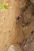Rock Climbing Photo: Captain Hook action. July 2012.