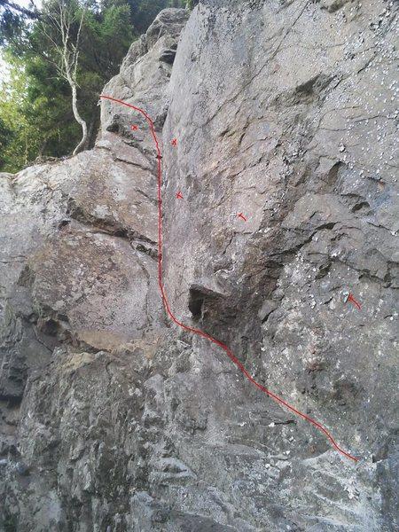 Rock Climbing Photo: One Vision 10c