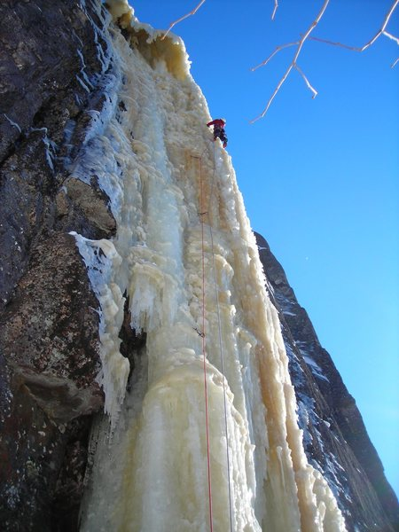 Rock Climbing Photo: Yes!  This ice route is in the mid-west!