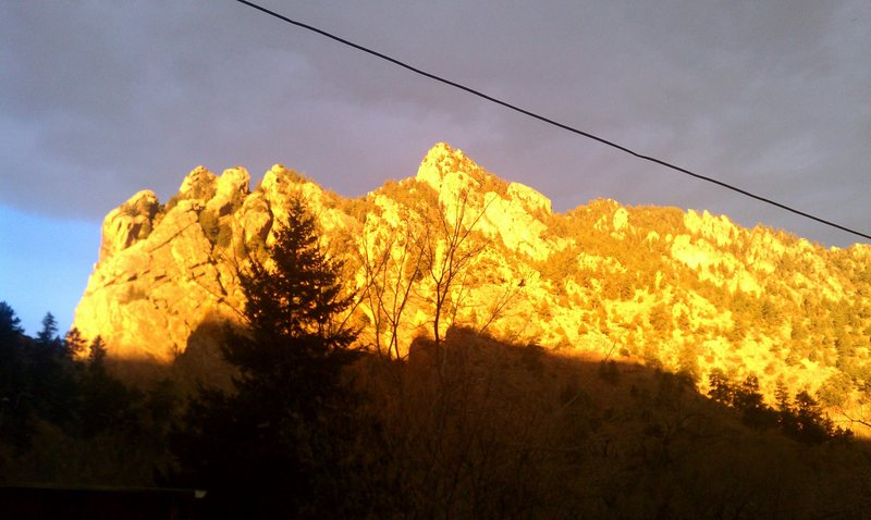 Rock Climbing Photo: view from my porch!