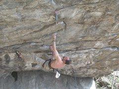 Rock Climbing Photo: Ceriola-Valle d'Aosta 7c+ (about 5.13a)