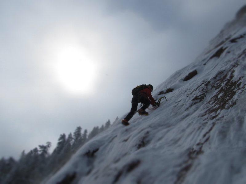 Rock Climbing Photo: 1st Flatiron.