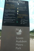 Rock Climbing Photo: Scioto Audubon 8/10/12