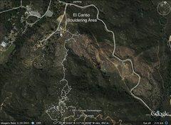 Rock Climbing Photo: area map