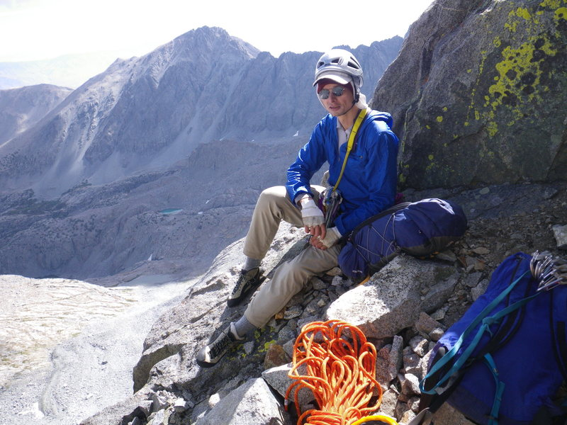 Rock Climbing Photo: 21-August-2012: Me just before heading up the Twil...