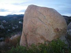 Rock Climbing Photo: looking NW at face