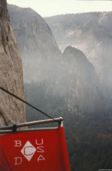 Hanging out on El Cap.