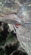 Rock Climbing Photo: My buddy Scott.