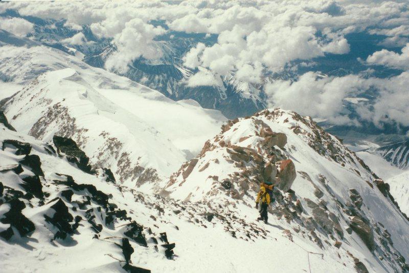 Rock Climbing Photo: Me on Denali.