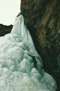 Rock Climbing Photo: Me on Cornett Falls.