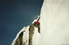 Rock Climbing Photo: Scott on Stairway to Heaven.