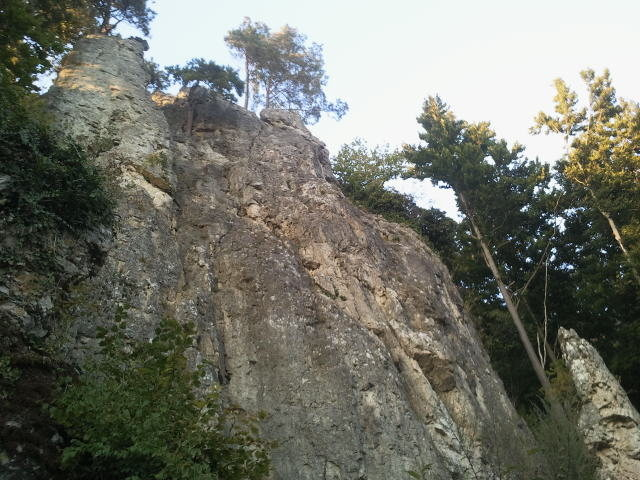 Rock Climbing Photo: The right part of the left side.