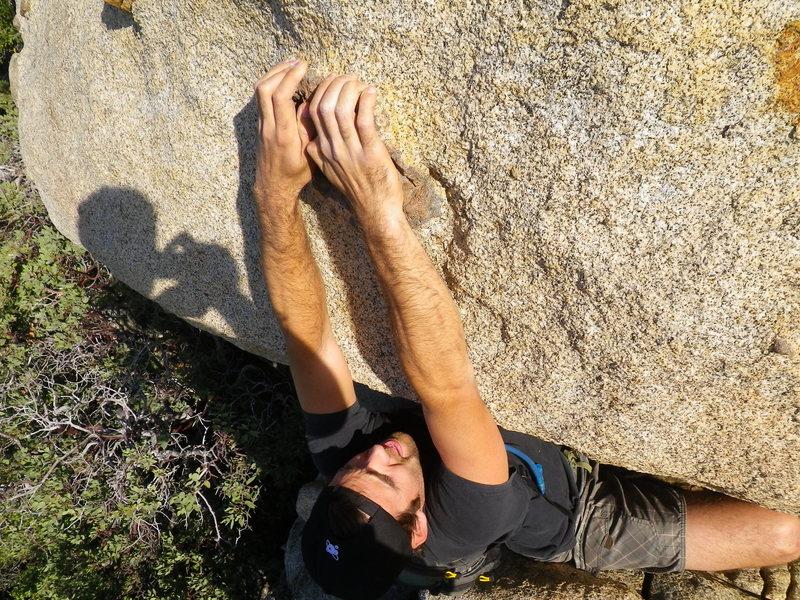 Rock Climbing Photo: Jeff Mumaugh