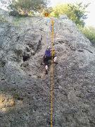 Rock Climbing Photo: Eva in Rechts außen