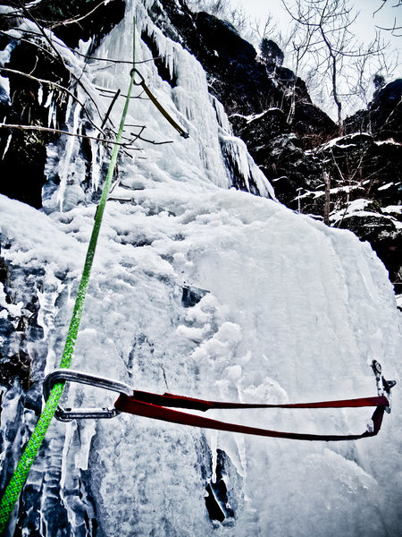 Rock Climbing Photo: Homeland insecurity, The Narrows PA.  Second Pitch...