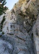 Rock Climbing Photo: Medussa, Hellgate 2012