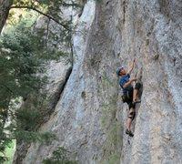 Rock Climbing Photo: Under the Knife, 11d