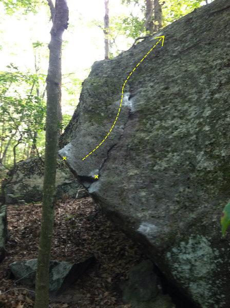 Rock Climbing Photo: Hankey Pankey