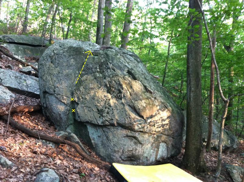 Rock Climbing Photo: Stupid little thing...