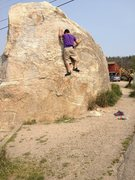 Rock Climbing Photo: First Accent of Bada Bing Bada Boom and Some Coffe...