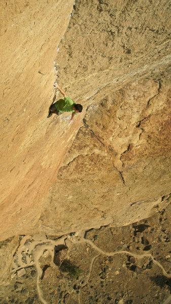 Rock Climbing Photo: Zebra Zion. Photo by Brian Mosbaugh