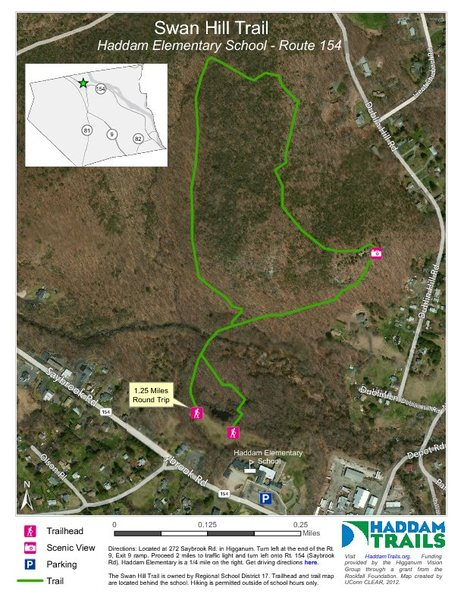 A Trail Map For Swan Hill