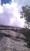 Rock Climbing Photo: Battle of the bulge