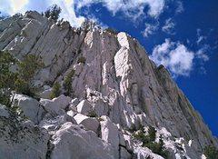 Rock Climbing Photo: Orange Pillar
