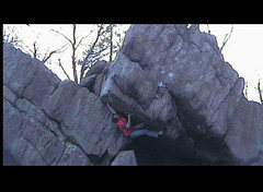 Rock Climbing Photo: First ascent