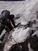 Rock Climbing Photo: starting the third pitch