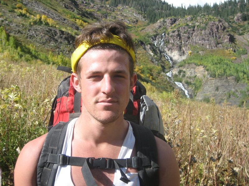 Backpacking in lead king basin..