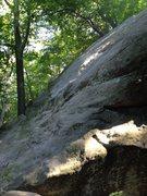 Rock Climbing Photo: Closeup of the slab