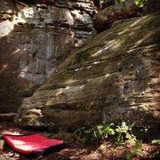 Rock Climbing Photo: Unknown slab problem