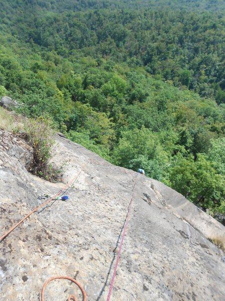 Rock Climbing Photo: Plated Face
