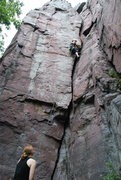 Rock Climbing Photo: Cracking Up