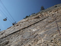 Rock Climbing Photo: JG on ptch 1