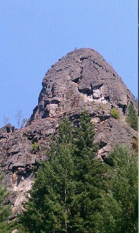 Castle Rock from across the street.