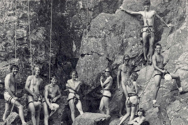Climbing, an American institution???
