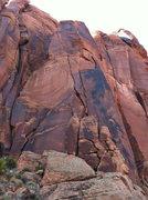 Rock Climbing Photo: Sun Dawg