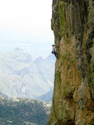 Rock Climbing Photo: In the midst of pitch 3.  This might be an anti-be...