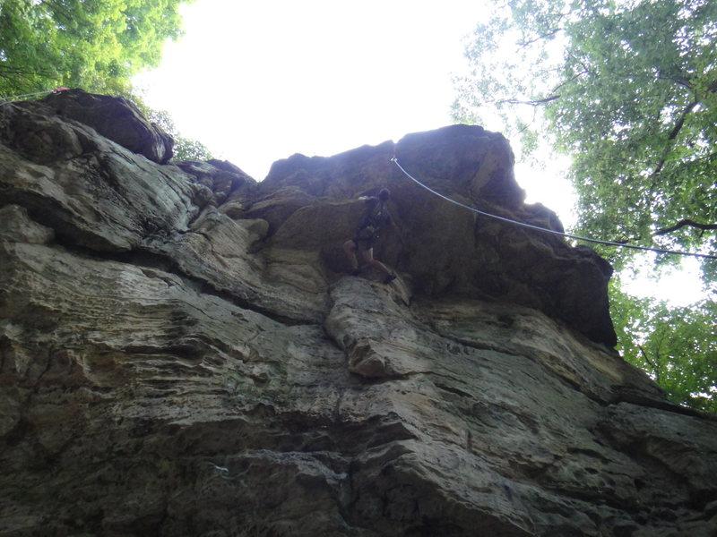 Rock Climbing Photo: SD on Double O