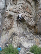 Rock Climbing Photo: Fun climbing through the crux