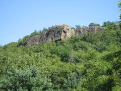Rock Climbing Photo: View from the road