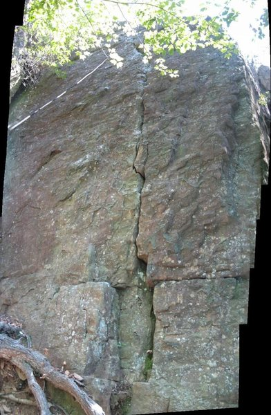 """Rock Climbing Photo: The """"second pitch"""".  Most folks start he..."""