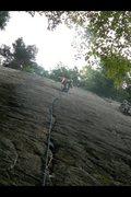 Rock Climbing Photo: Lead climb on Little Kisses.